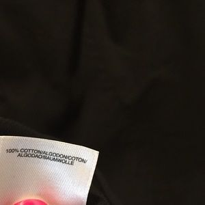Jones New York Tops - Black button up sleeveless top